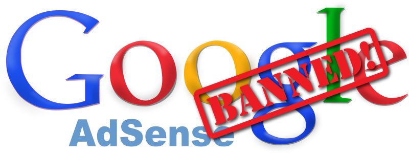 Google Adsense account banned
